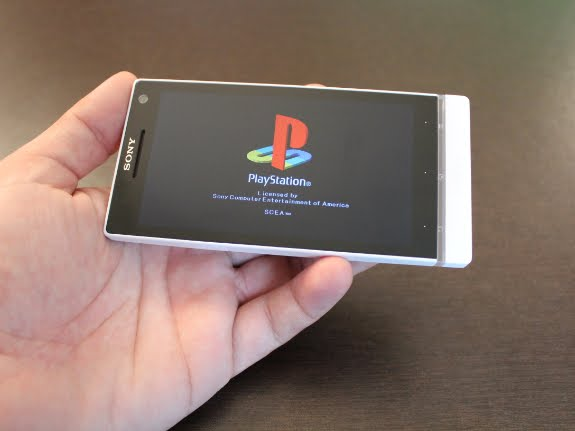 PlayStation Store in Sony Xperia S