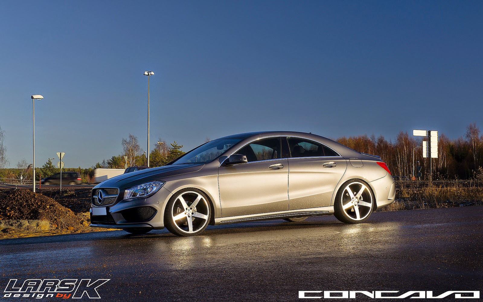mercedes benz cla class c117 on concavo cw 5 benztuning. Black Bedroom Furniture Sets. Home Design Ideas