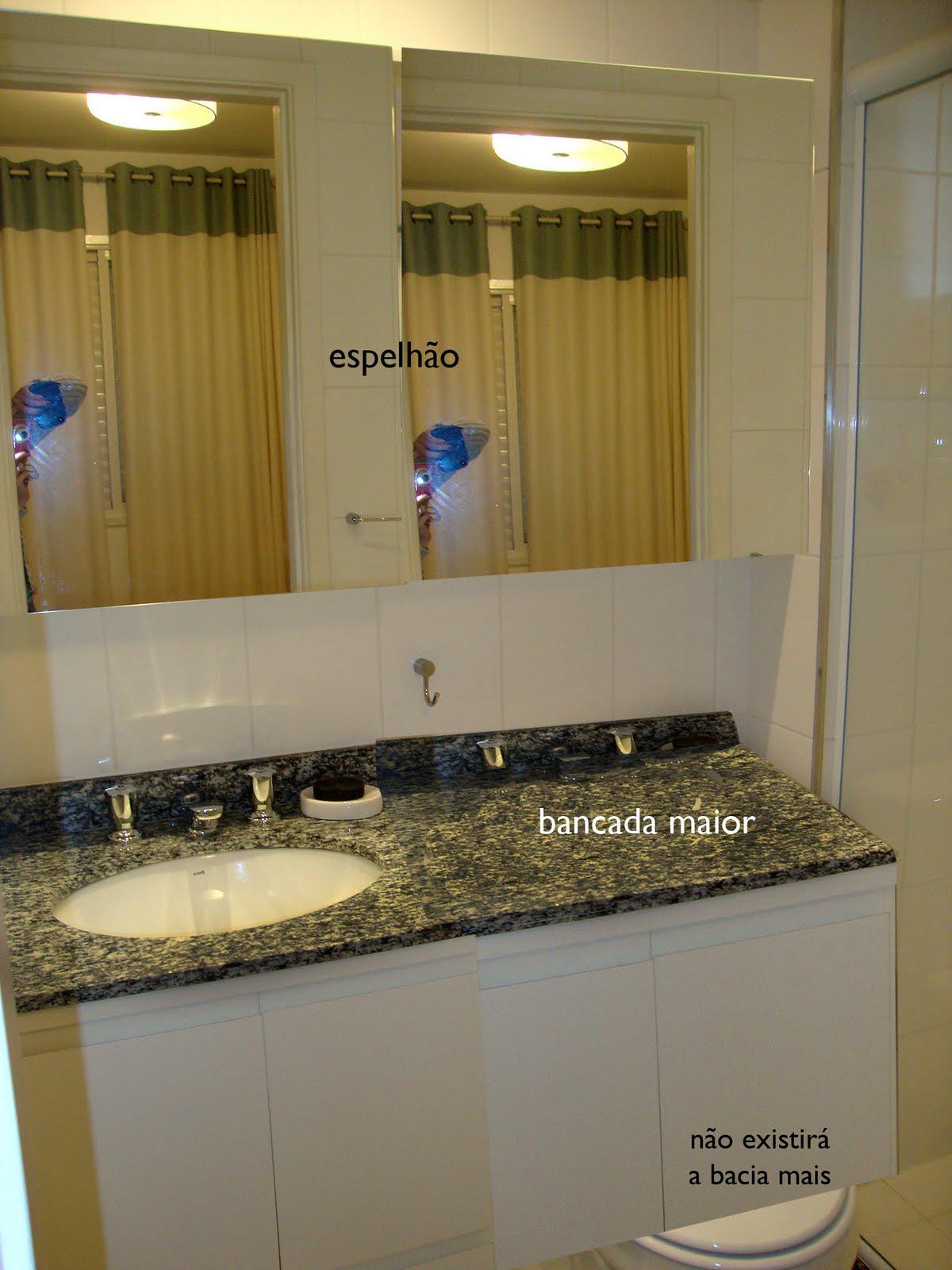 Banheiro Social X Banheiro da Suíte Comprando Meu Apê Comprando  #98A328 1200 1600