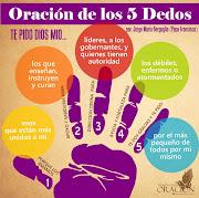 ¿Conocíais la oración de los cinco dedos? Famosísima.