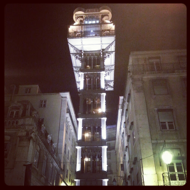 Santa Justa Elevator Lisbon Portugal