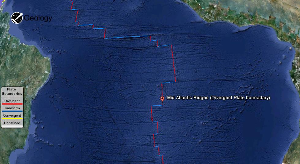 Mid-Atlantic Ridge | Geology Page