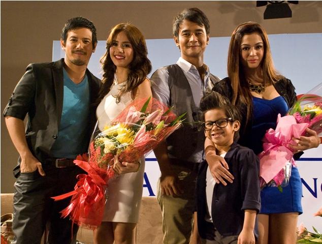 Angelito: Ang Bagong Yugto Cast - John Prats, Kaye Abad, JM de Guzman, Charee Pineda and Joshen Bernardo