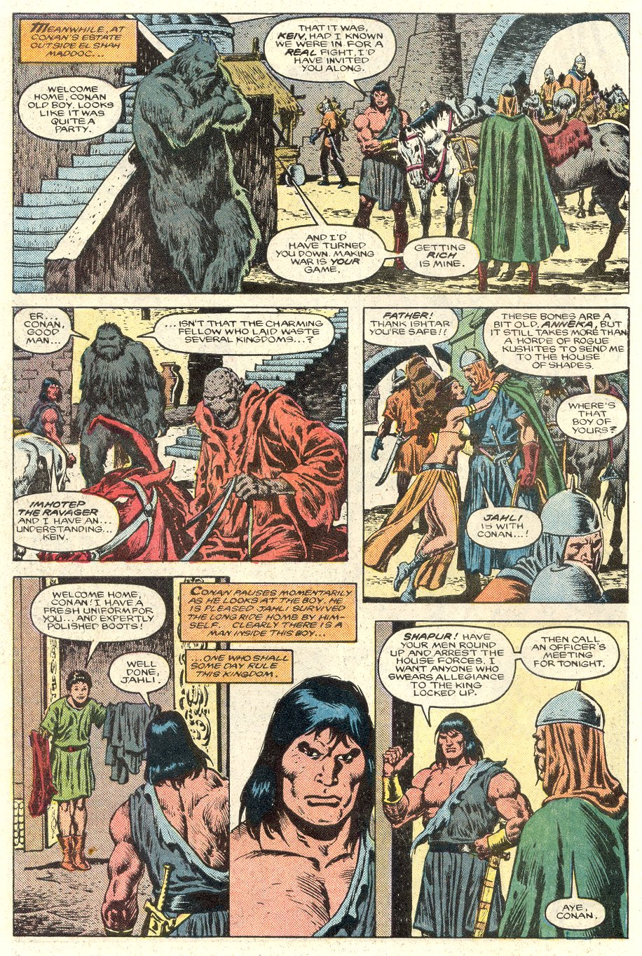 Conan the Barbarian (1970) Issue #184 #196 - English 5