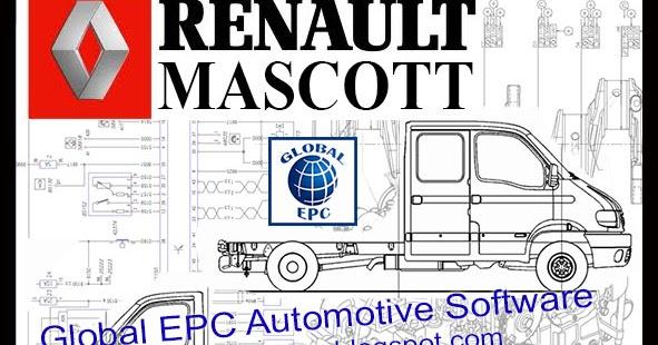 GLOBAL EPC AUTOMOTIVE SOFTWARE     RENAULT       MASTER    MASCOTT
