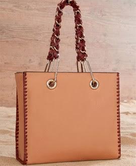 Arezzo verão 2014 bolsa tiracolo com alça trançada de couro e metal