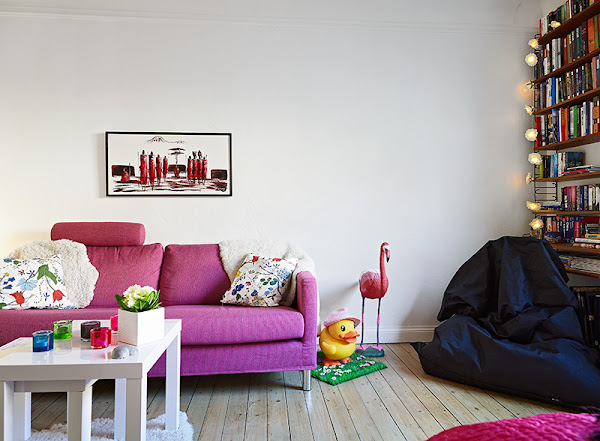 Salon cocina apartamento pequeno for Lamparas para apartamentos pequenos