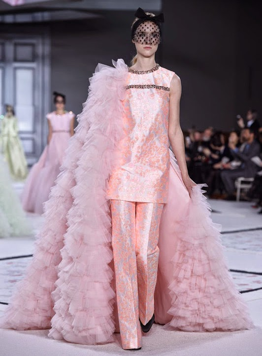 giambattista valli spring summer couture 2015 ruffles