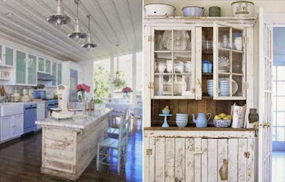 shabby chic paint colors kitchen