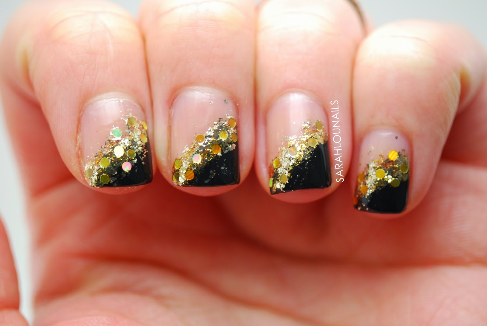 Sarah Lou Nails: New Years Eve 2014 Nails!