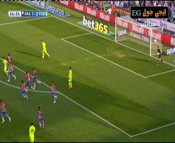 اهداف مباراة غرناطة و برشلونة1-3   الدورى الاسبانى   27-2-2015 granada cf vs barcelona