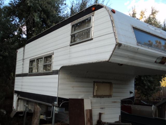 TOMMY'S COLORADO GARAGE SALE: 11.5 ft overhead camper for ...