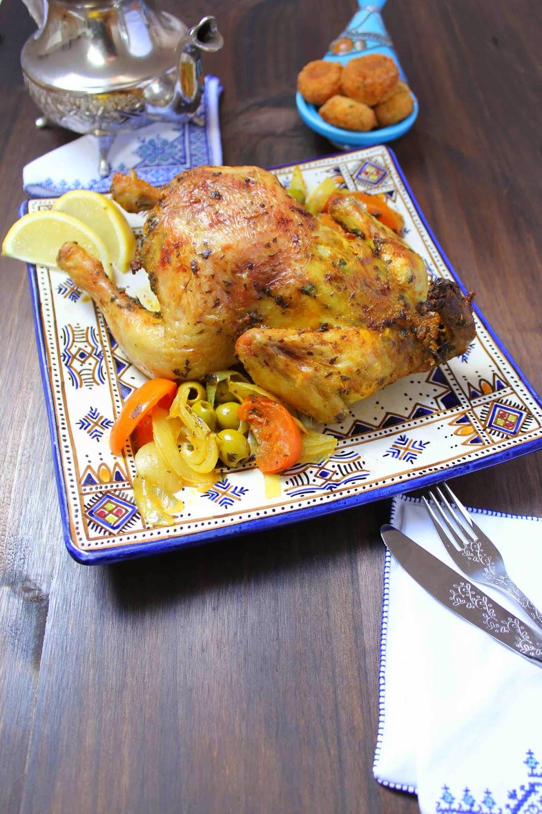 comida-marroquí-pollo-especias