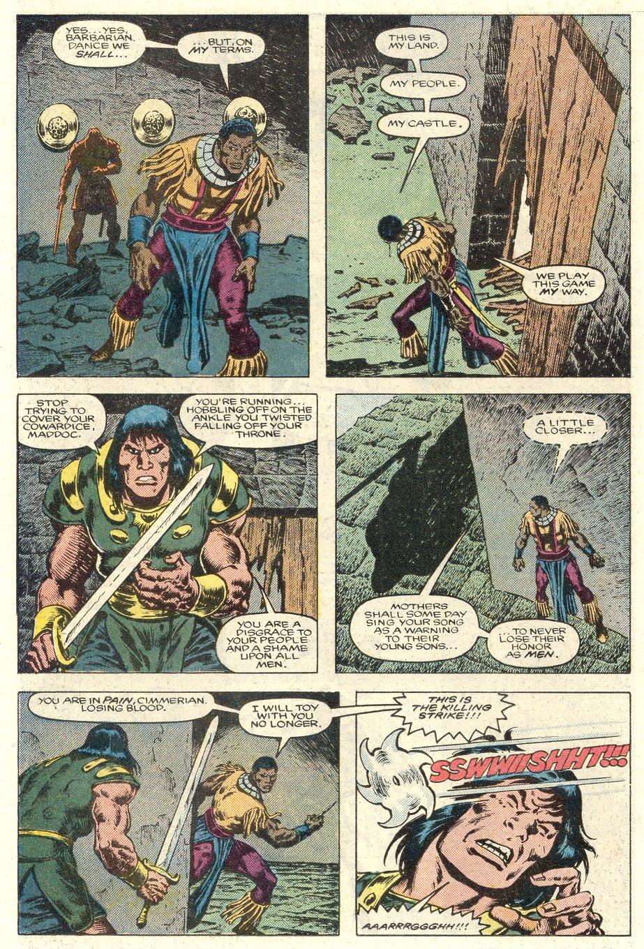 Conan the Barbarian (1970) Issue #184 #196 - English 17