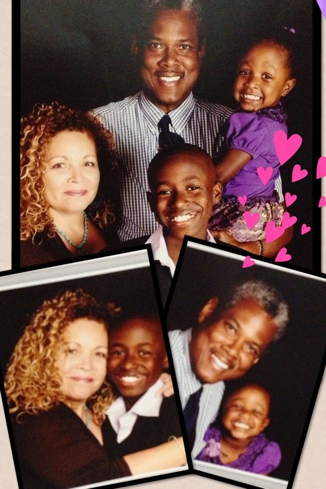 Papi & Ammy and grandchildren before they got big on us!!!...
