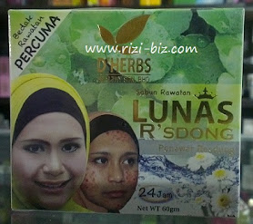 Sabun Rawatan Lunas R&#39;sdong RM24.90