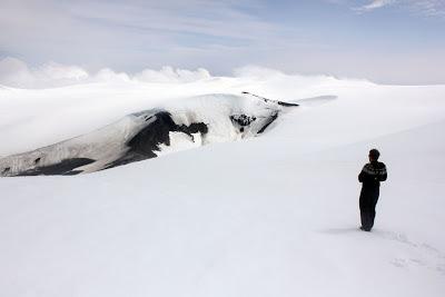 Eyjafjallajokull crater