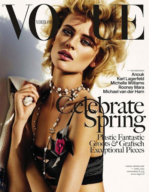 Milou Van Groesen-Vogue Netherlands-April 2013