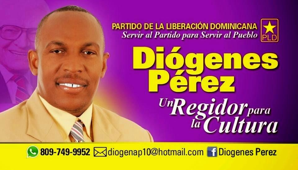 Diógenes Pérez regidor!