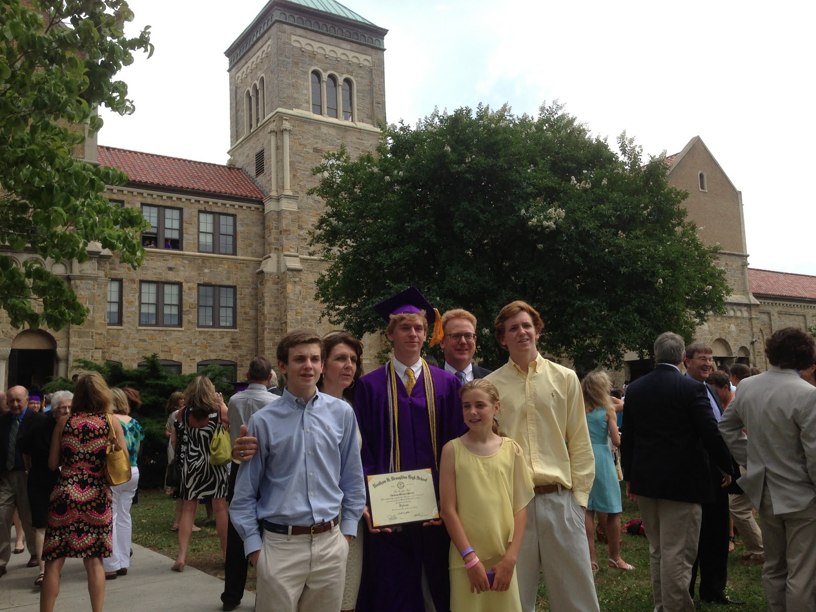 Gadding About with Grandpat: Grandson Zach Graduates from ...