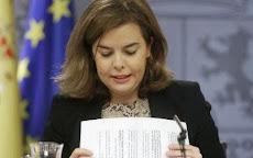 ESPAÑA: POLÍTICA Rueda de prensa tras el Consejo de Ministros