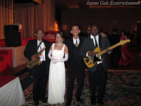 Jason Geh's 4 piece wedding Jazz band