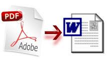 ¿Cómo pasar un PDF a Word?