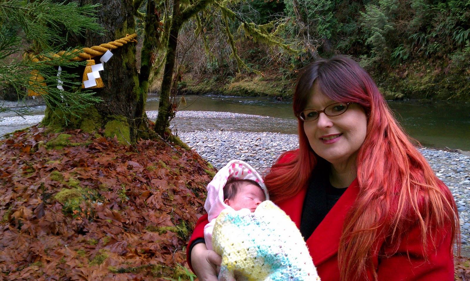 American Mishima Hatsumiyamairi Baby S First Shrine Visit