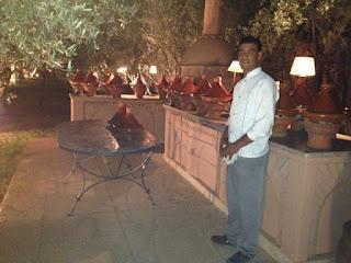 Ronde de Tajines à l'hôtel Les Deux Tours à Marrakech