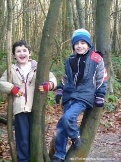 Happy kids enjoying the outdoors