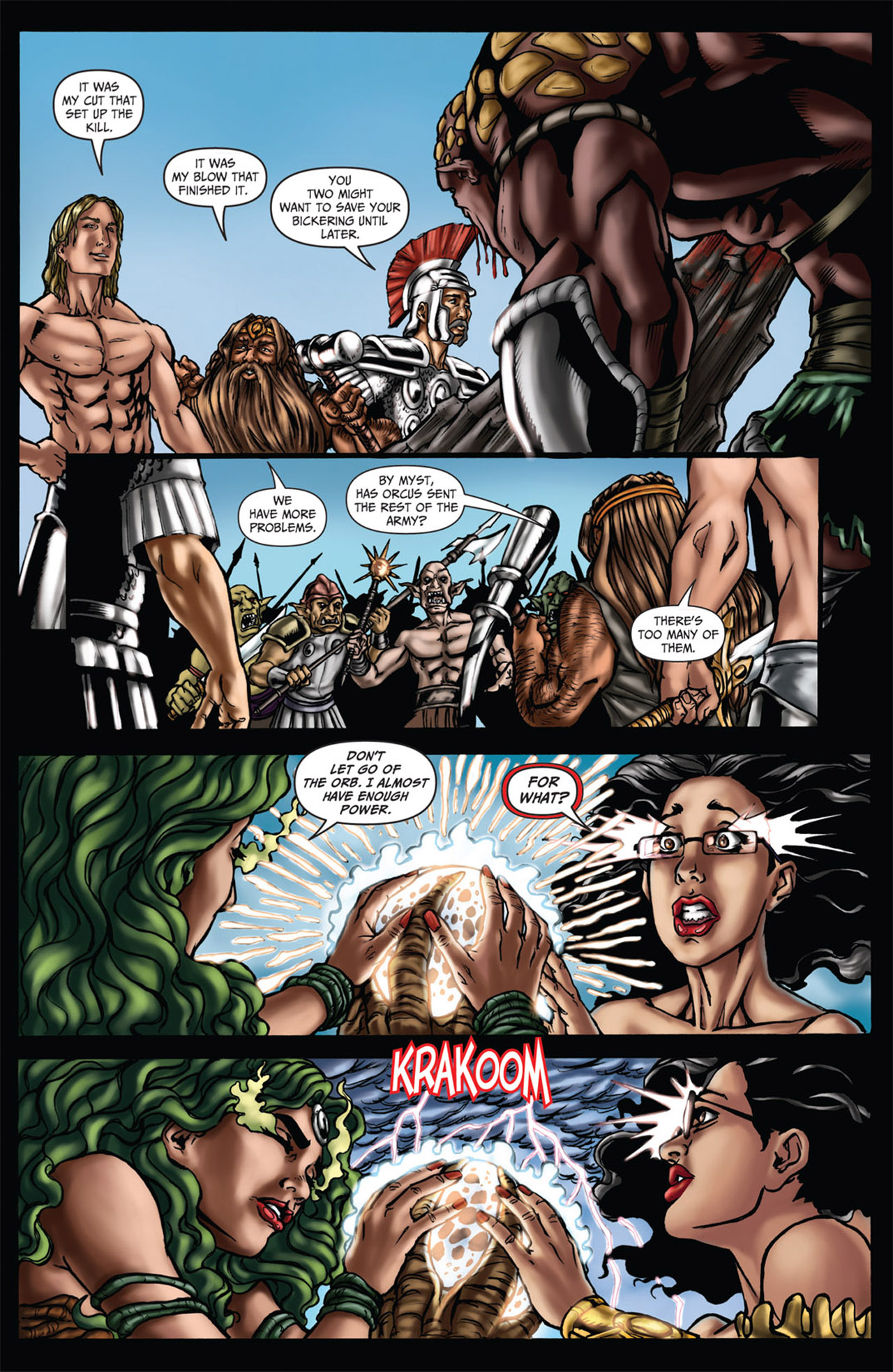 Grimm Fairy Tales (2005) Issue #60 #63 - English 18