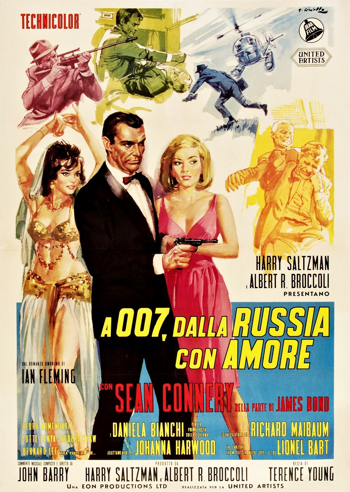 michael gillette 1963 from russia with love uk quad france