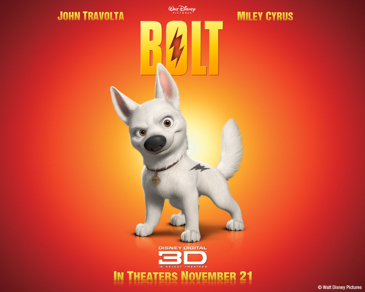 Bolt Animation Film