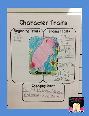 character traits and how they change
