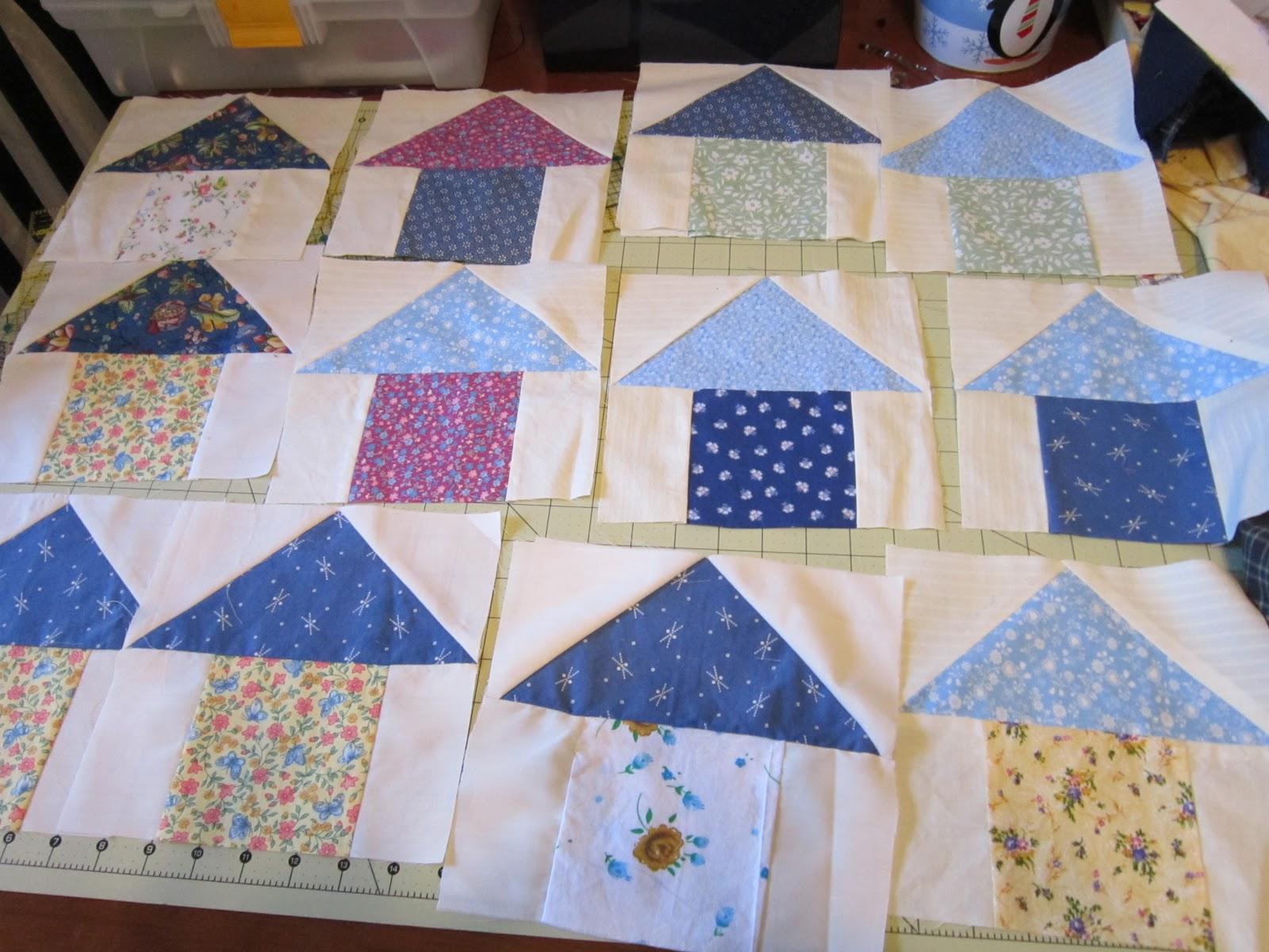 Missy's Homemaking Adventures: Birdhouse Quilt Progress : birdhouse quilts - Adamdwight.com