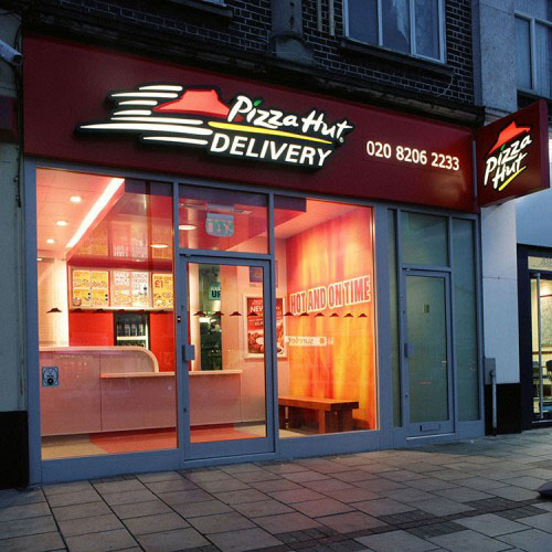 Pizza Hut Delivery Concept