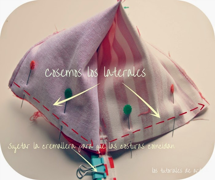 diy,tutorial, paso a paso, monedero triangular o piramidal