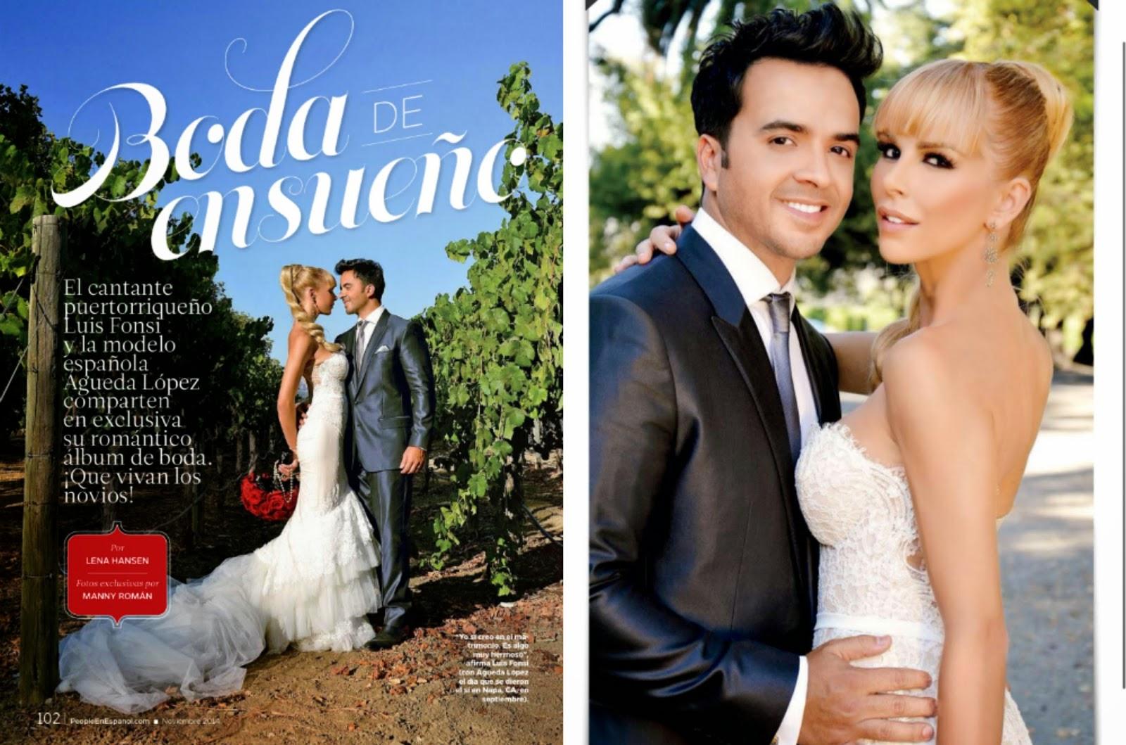 Luis fonsi wedding