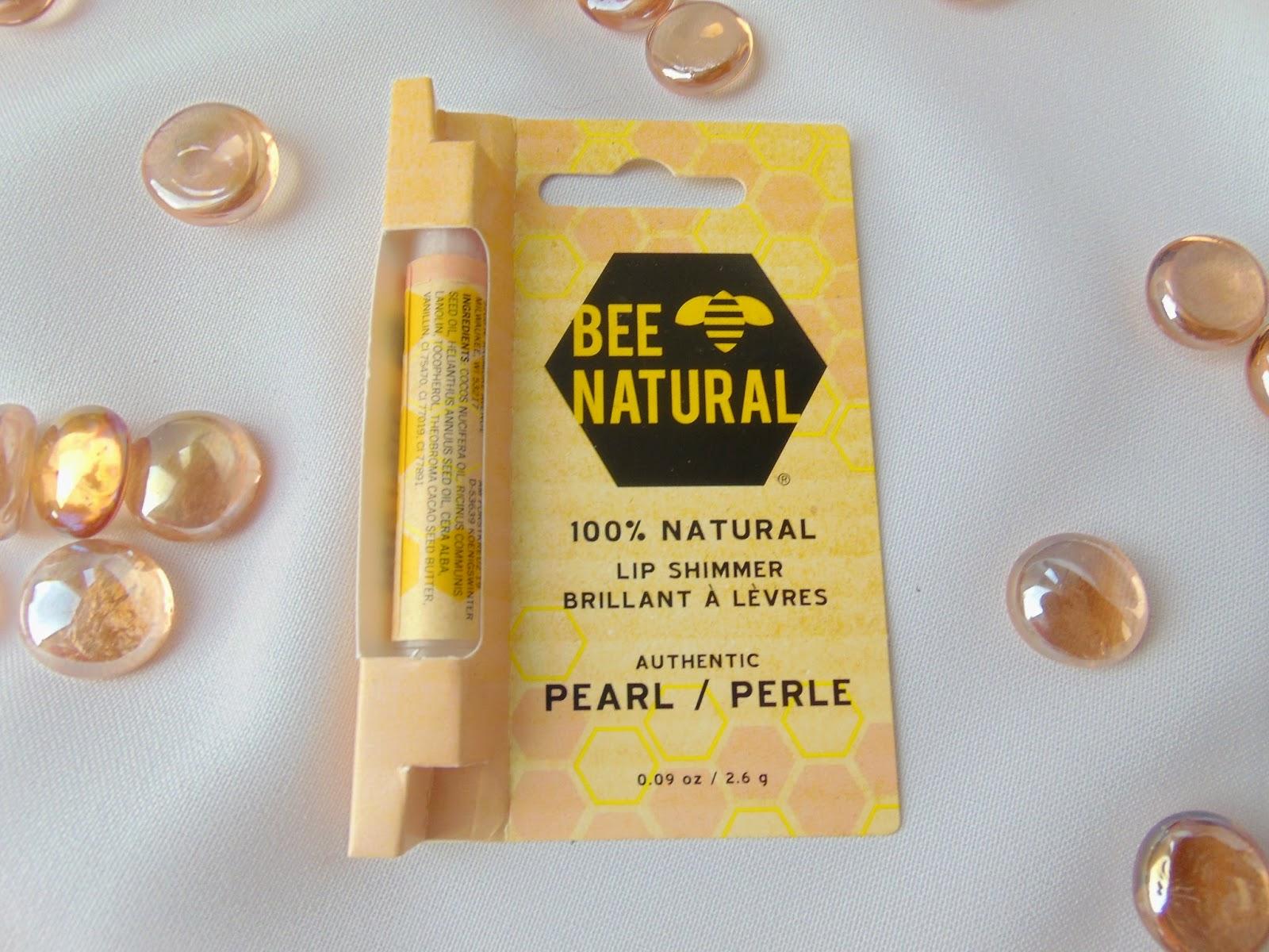 Lippenbalsam - Bee Natural - Pearl - www.annitschkasblog.de