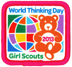 Girl Scouts of the USA's 2013 World Thinking Day Award
