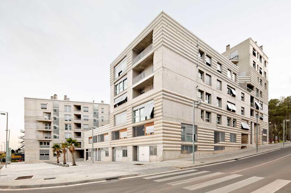 Borja mas rodriguez flores prats edificio 111 terrassa - Arquitectos terrassa ...