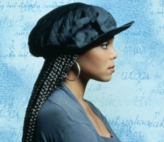 Janet Jackson Poetic Justice with Braids
