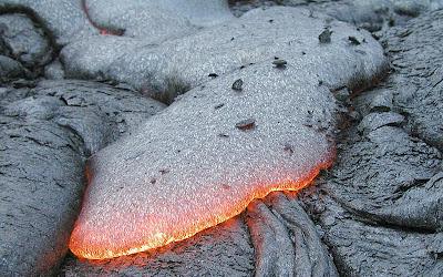 Aliran lava dingin