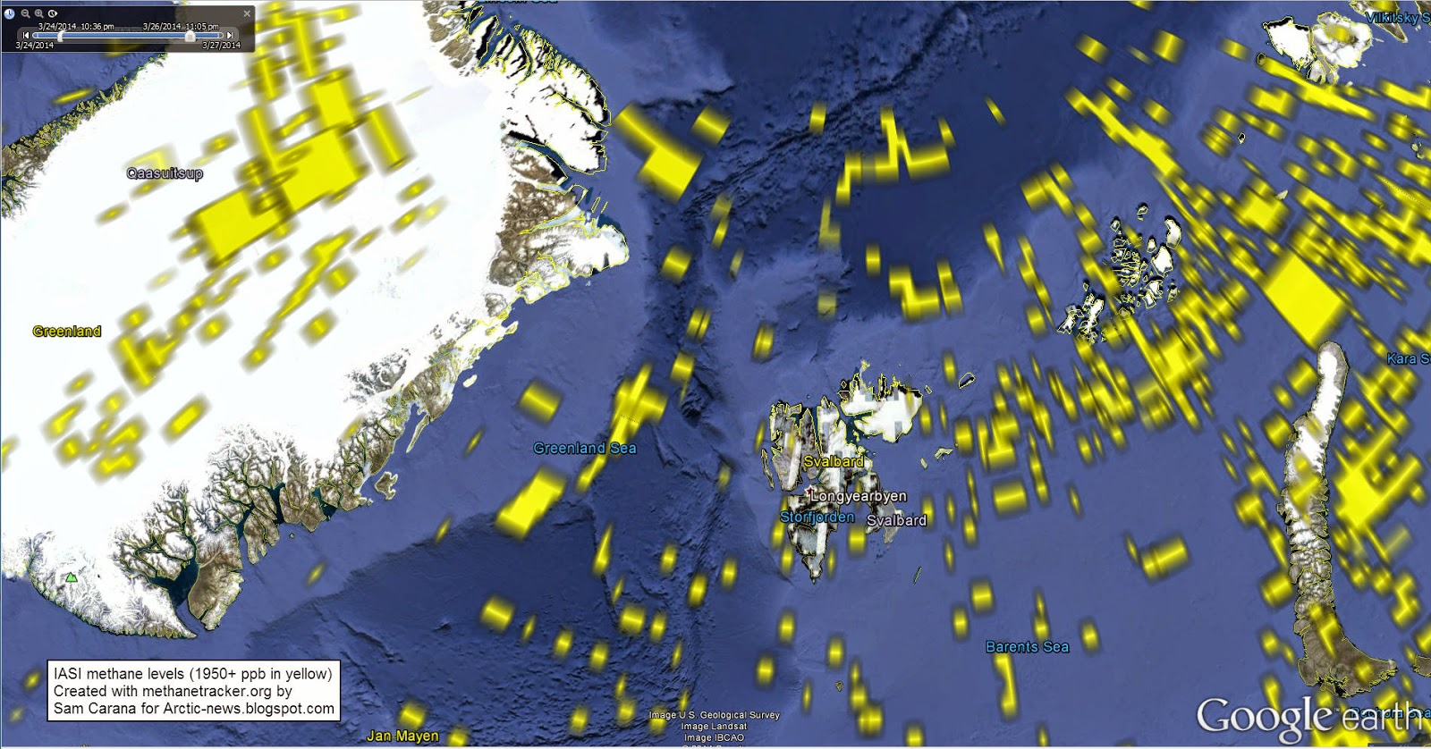 Arctic News Earthquakes In The Arctic Ocean - Arctic ocean on us map