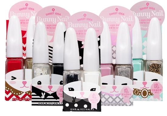Etude House Sweet Idea Bunny Nail sets