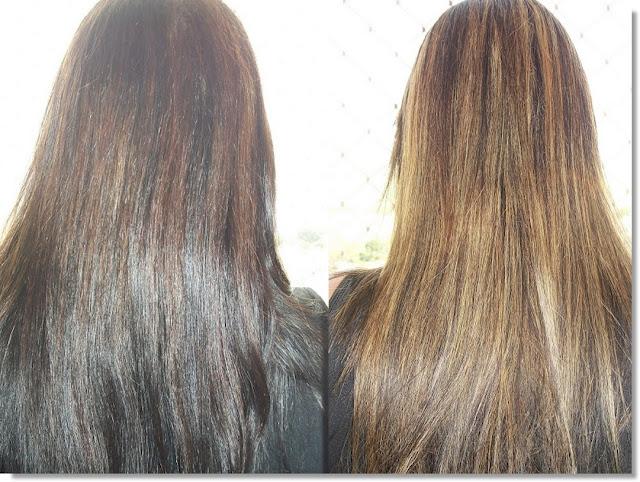 Meu cabelo melhorou muito após a cauterização.