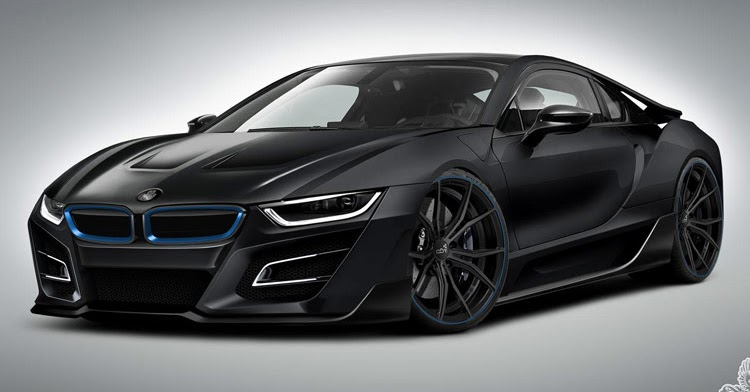 German Tuner Gives Bmw I8 An Itron Makeover
