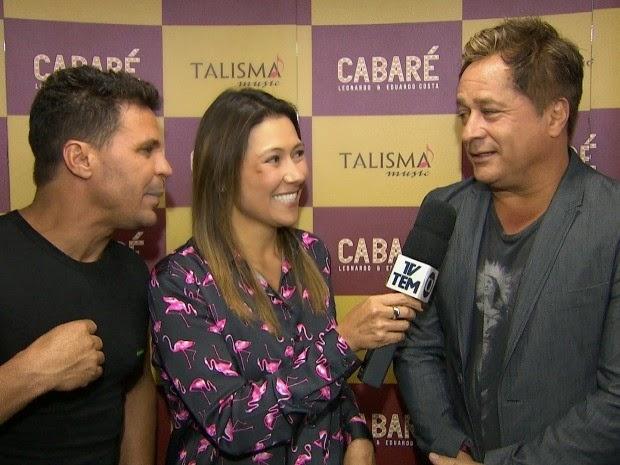 Programa nosso campo Leonardo e Eduardo Costa show Cabaré tv tem 14  05  2014