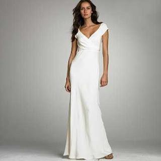 modelo de vestido branco para mulheres baixas - fotos e dicas