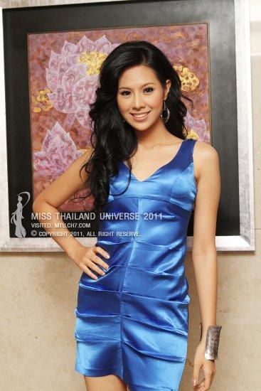 Fah Chanyasorn Sakornchan was crowned Miss Thailand Universe 2011Chanyasorn Sakornchan